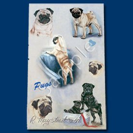 Pug Roller Ball Pen Designer Ruth Maystead