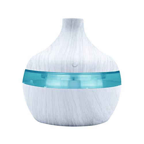 Humidificateur d'aromathérapie avec diffuseur LED d'huile essentielle de parfum (Blanc)