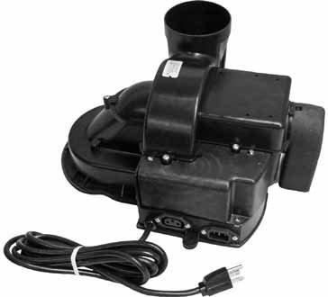 Bradford White Water Hot Heater Exhaust Draft Inducer Blower # 265-45584-00 (Hot Water Heaters Bradford White)