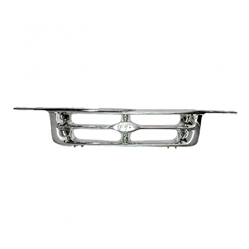 (Grille Grill Front All Chrome for 95-97 Ford Ranger Pickup)