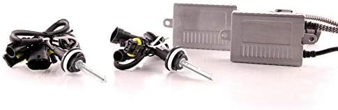 9005//9006, 3000K DDM Tuning Plus 35W Premium Canbus HID Kit Slim AC Ballasts w//Hi-Output Bulbs FBA