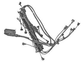 amazon com mercedes r129 w140 320 engine wiring harness updated rh amazon com Mercedes W114 mercedes w140 engine wiring harness