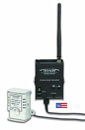 Ritron RDC-446 UHF wireless intercom with external push to talk, 10 channel, 2 watt