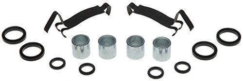 Chevy Chevelle Disc Brake - ACDelco 18K265X Professional Front Disc Brake Caliper Hardware Kit with Clips and Bushings