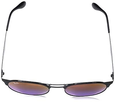 Ray-Ban Women's Etched Retro Round Aviator Sunglasses