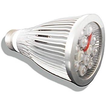 Amazon.com: Bombilla LED de crecimiento con espectro ...