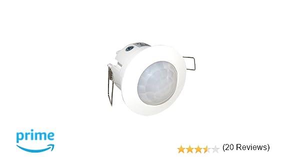 Gsc - Detector empotrar movimiento techo 1401237: Amazon.es: Bricolaje y herramientas