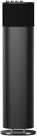 200W Bluetooth Speaker, ABRAMTEK E500 (2nd Gen) Excessive Energy Wi-fi Moveable Speaker w/Bass Center Treble Equalizer, HDMI ARC, AUX, Music Film Recreation Modes, Grey