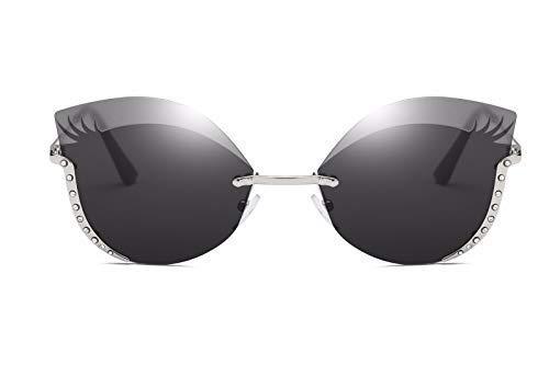 Gafas polarizadas de de Sol Ojos Intellectuality Mujer Gafas Personalidad D de A Retro Hombre Sol wTqfF0xA