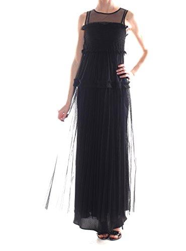 Pinko Vestito Donna 1G135LY4BKZ99 Poliestere Nero