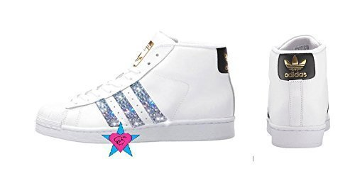 Crystal Glitter Adidas Originals Pro Model by Eshays