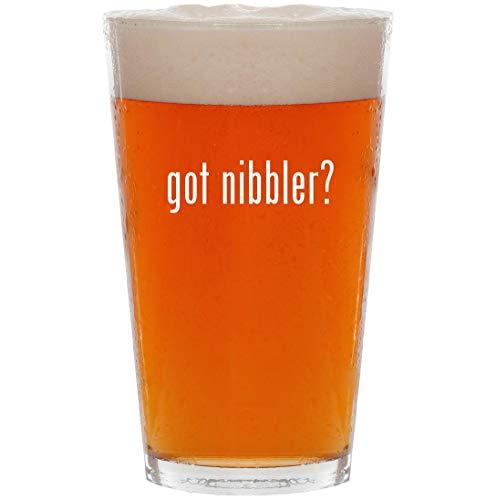 got nibbler? - 16oz All Purpose Pint Beer Glass
