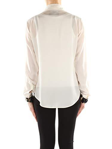 Blanco Blusas Seda Mujer Moschino j02205437 ApH4WU