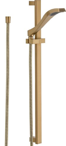Delta Faucet 57051-CZ Dryden Slide Bar Hand shower, Champagne Bronze
