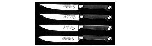 Messermeister San Moritz Elite 4-Piece Multi-Edge Steak Knife Set