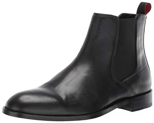 Hugo Boss Hugo Men's Smart Chelsea Boot Fashion, Black, 8 Medium US