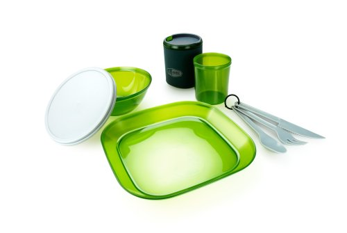 GSI Outdoors Infinity One-Person Table Set, Green