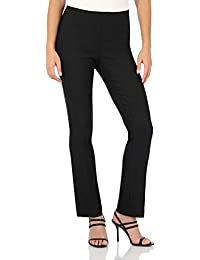 Women's Ease in to Comfort Straight Leg Pant with Tummy Control