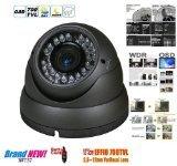 BW® 700TVL 1/3'' Sony CCD 2.0 Mega Varifocal Zoom CCTV Surveillance Camera with OSD Menu Night Vision Infrared to 180 Feet