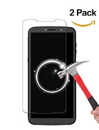 StormSell 2 Pack de Cristal Templado para Motorola Moto Z3 Play Protector de Pantalla Tempered Glass Alta Durabilidad...