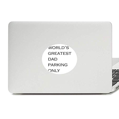 World's Greatest Dad Father's Festival Quote Vinyl Skin Laptop Sticker Notebook Decal