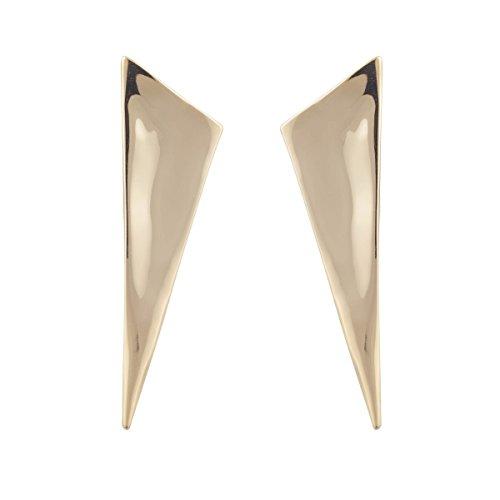 (Alexis Bittar Liquid Gold Angled Pyramid Post Earrings )