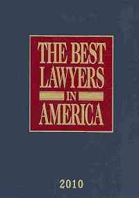 Book cover from The Best Lawyers In America 2010 by Steven Naifeh