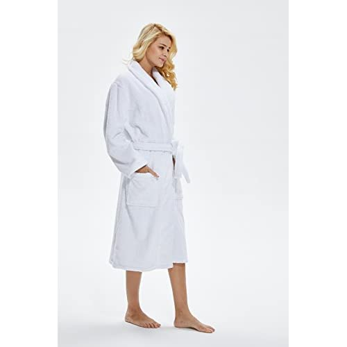 well-wreapped Beryris Luxury Bathrobe for Women - Women s Terry Cloth Robe  in Bamboo Viscose ffd03bea9