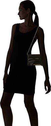 Black Clutch Satin black Women's Wallis Bow 1aqwFRnIH