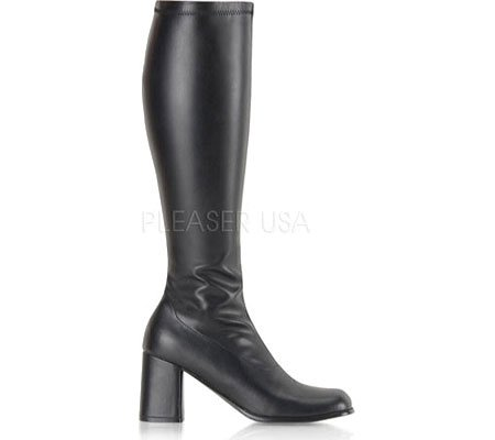 Funtasma Womens Gogo 300 / B / Pu Boot Black Pu