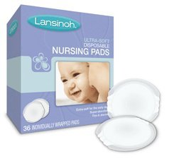LANSINOH NURSING PADS ULT SOFT 36, Pack of 5 - Lansinoh Disposable Breast Pads