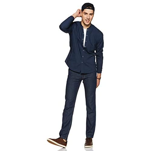 31 gKKXUIzL. SS500  - Amazon Brand - Symbol Men's Relaxed Fit Jeans