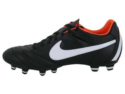 Tiempo Mystic IV GrãÆ?â¶Ã?Æ?å¸E: 5 Deporte Entrenador Zapatos Black/Total Orange/White