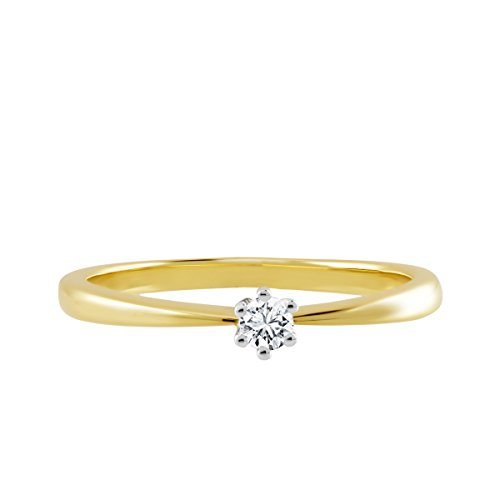 Diamond Line - Bague - Or 2 couleurs - Diamant - 118259