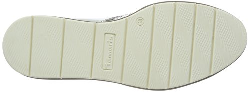 Tamaris Dames Slipper Wit 24305