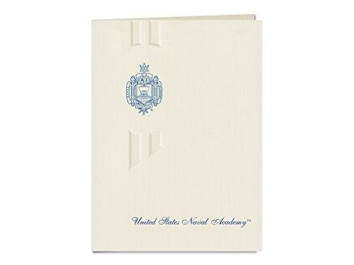 Signature Announcements United States Naval Academy Graduation Announcements, Elegant style, Elite Pack 20 with United States Naval Academy Seal Foil