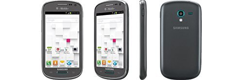 Samsung Galaxy Exhibit SGH-T599 Gray (GSM Unlocked) Android Smartphone (Certified Refurbished)