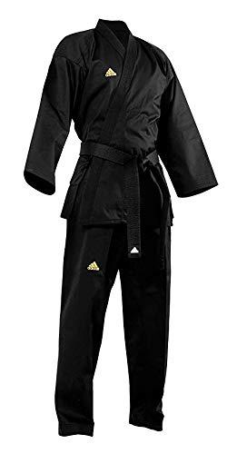 Adidas All Black Open Martial Arts Uniform (5)
