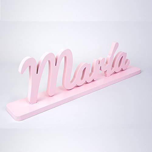 Nombre de madera personalizado letras decorativas para ...