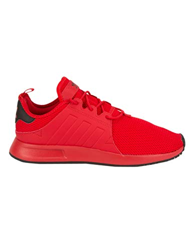 adidas Originals Men's X_PLR Running Shoe, Scarlet/Scarlet/Black, 10.5 M US