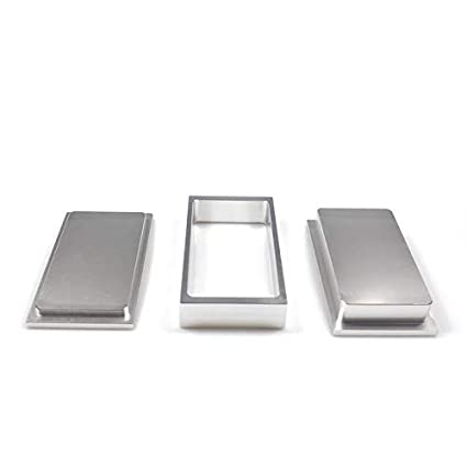 Holyangtech pre Press Mold-hot Selling Rosin Pre Press Mold for DIY Solventless Extraction /& Pressing Mold 1x3