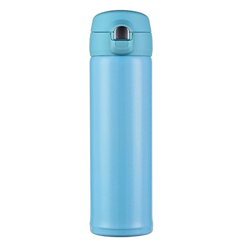 Hiwill Double Walled Vacuum Insulated Travel Coffee Mug, Sta