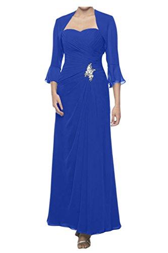TOSKANA BRAUT -  Vestito  - linea ad a - Donna blu 42