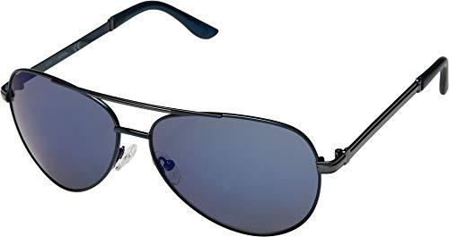 (GUESS Men's GF0173 Shiny Blue/Blue Mirror One)