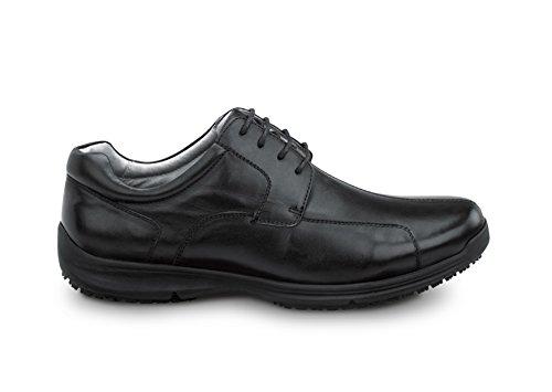 Sr Max Atlanta Heren Slip Oxford Black