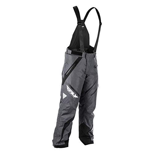 Fly Racing F19 SNX Pro Insulated Tall Mens Snowmobile Pants - Black/Gray - ()