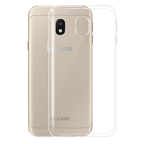 Galaxy J7 2018/J7 V 2nd Gen/J7 Aero/J7 Refine/J7 Star/J7 Crown, EGALO Ultra [Slim Thin] Flexible TPU Gel Rubber Soft Skin Silicone Protective Case for Samsung Galaxy J7 2018 (Clear)