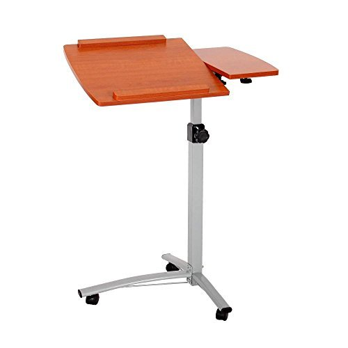 Adjustable Height Conference Table (Ohuhu Laptop Desk, Angle & Height Adjustable Rolling Laptop Desk Lapdesk for office)