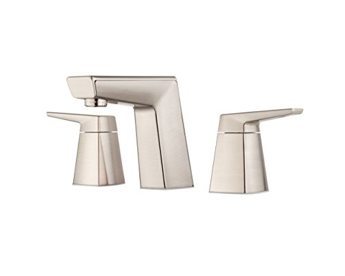 Pfister LG49LPMK Arkitek 2-Handle 8 Inch Widespread Bathroom Faucet in Brushed Nickel, Water-Efficient Model