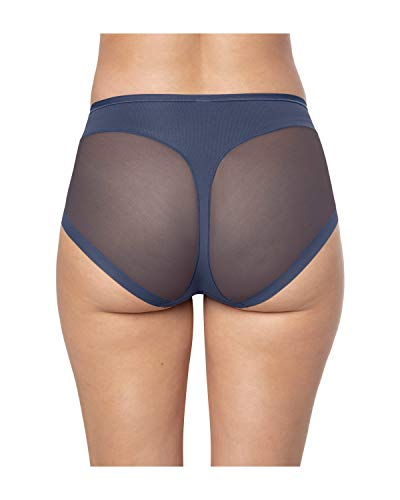 Leonisa Truly Invisible Super Comfy Compression Shapewear Panties with Light Slimming Tummy Control for Women